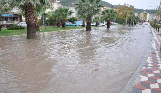 Edirne yağmura teslim