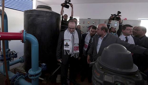 800 bin Gazzelinin su ihtiyacı karşılanacak