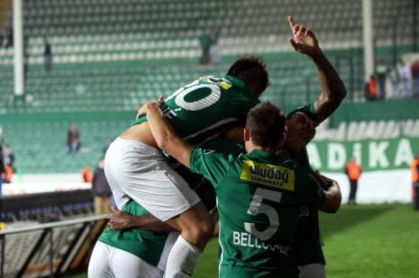 Bursaspor 3 Puana Kilitlendi