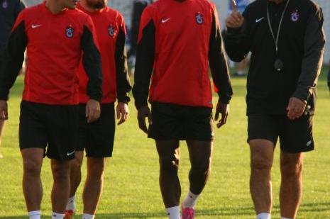Trabzonspor, Legia Varşova maçına hazırlanıyor