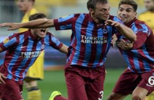 Trabzon'da ilk yarıda tek gol!