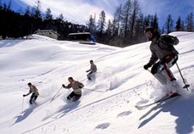 Ilgaz'da kayak sezonu kapandı