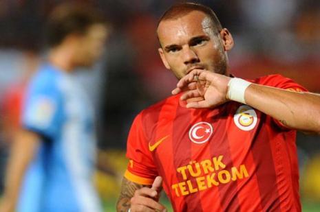 Sneijderin korkusu yok