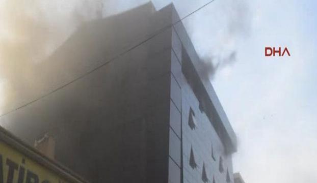 Halk Sağlığı Müdürlüğünde yangın