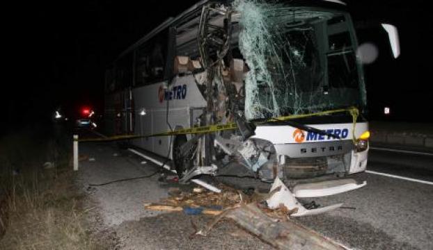 Yozgatta kaza: 1 ölü, 5 yaralı