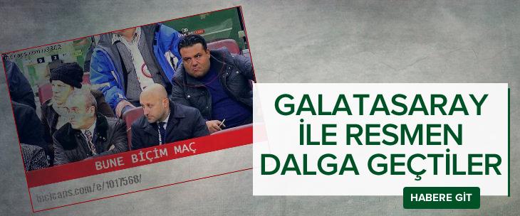 Sosyal medyayı sallayan Galatasaray-Tabzonspor maçı capsleri