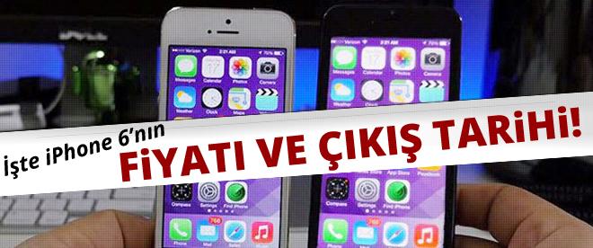 iPhone 6'nın fiyatı ve çıkış tarihi belirlendi