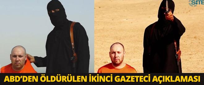 Öldürülen ikinci gazeteci ile ilgili ABD'den açıklama geldi