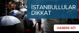 İstanbul'a bir uyarı daha