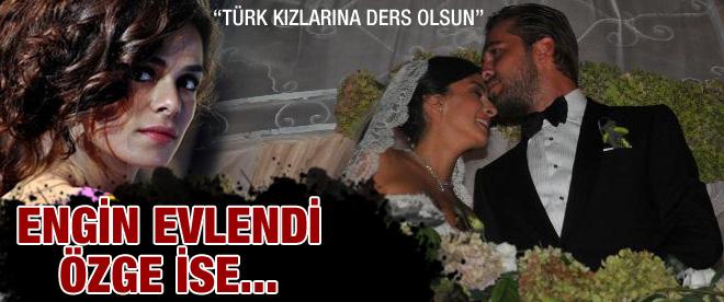 Evlenen Engin TT olan Özge!