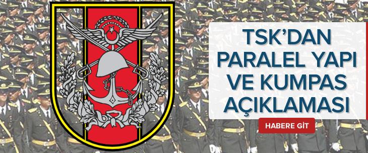 TSK'dan 'paralel yapı' açıklaması